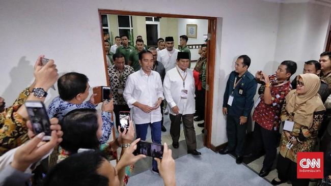 Komisi Pemilihan Umum telah mengundi nomor urut capres dan cawapres pemilu 2019. Pasangan Jokowi-Ma'ruf mendapat nomor urut satu, sementara Prabowo-Sandiaga mendapat nomor urut dua di pilpres 2019.