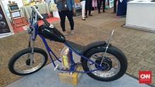 Motor Listrik Terinspirasi Chopper Jokowi Muncul di Kemayoran