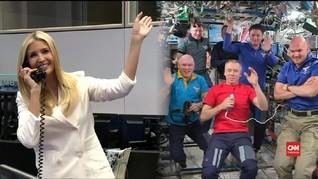 VIDEO: Kosmonaut Rusia Puji Ivanka Trump