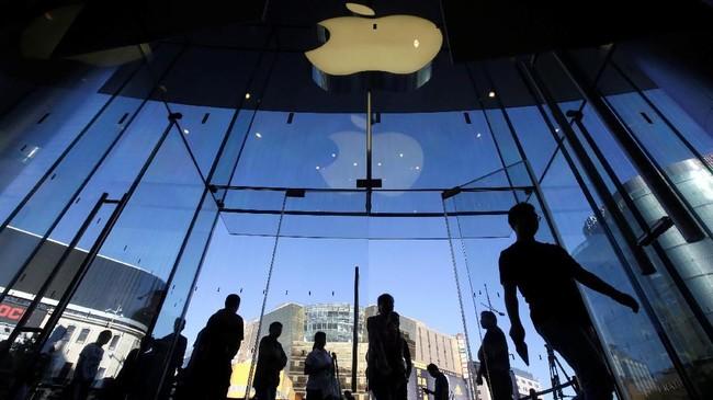 Apple mulai menjual perdana iPhone XSdan XS Max,di sejumlah negara, salah satunya China.(REUTERS/Jason Lee)