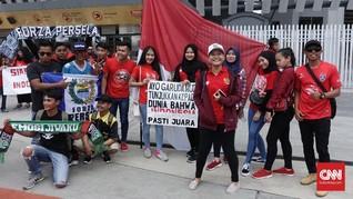 Fakhri Husaini Puji Militansi Suporter Timnas Indonesia U-16