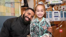VIDEO: Drake Bangkitkan Semangat Bocah Transplantasi Jantung