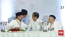 Membanding Dana Kampanye Awal Jokowi-Ma'ruf dan Prabowo-Sandi