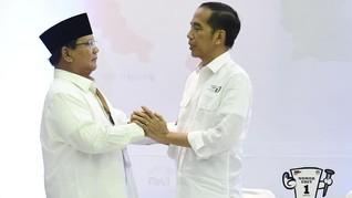 Beda Gaya Jokowi dan Prabowo saat Pengundian Nomor Urut