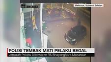 Polisi Tembak Mati Pelaku Begal
