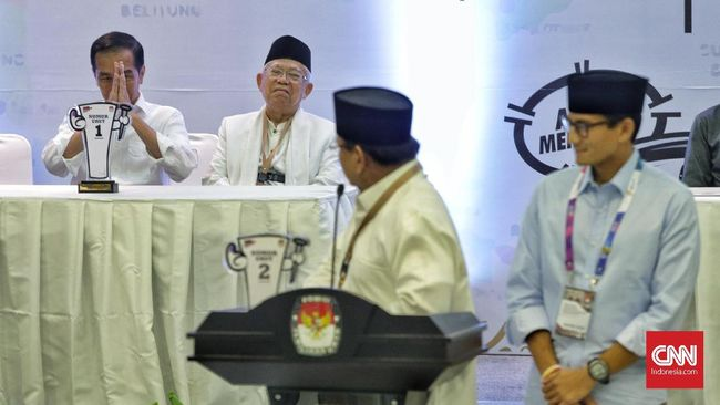 Jokowi Lebih Banyak Beriklan di TV Ketimbang Prabowo