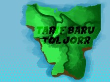 Ini Peta Tol JORR yang Tarifnya Sama Rata Rp 15.000