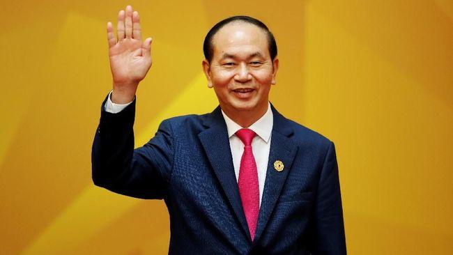 Presiden Quang Meninggal, Vietnam Umumkan Hari Berkabung