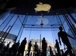 Laba Apple Lampaui Ekspektasi, Tapi Sahamnya Anjlok 7%