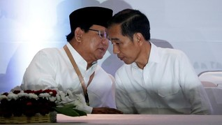 Prabowo Diisukan Jadi Wantimpres Jokowi