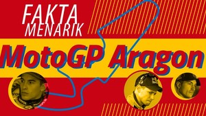 INFOGRAFIS: Fakta Menarik Jelang MotoGP Aragon 2018