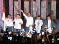 Lagu Indonesia Raya, Hanya Jokowi yang Beri Hormat di KPU
