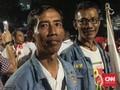 Kembaran Jokowi Nongol saat Ambil Nomor Urut di KPU