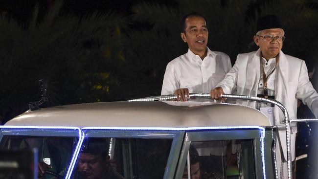 Kampanye di Serang, Jokowi Puji Ma'ruf Bisa Jelaskan Unicorn