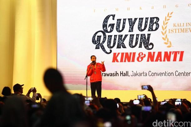 Jokowi Hadiri Reuni Akbar Alumni UGM