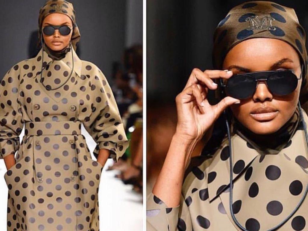 Makin Hits, Model Berhijab Kembali Eksis di Milan Fashion Week