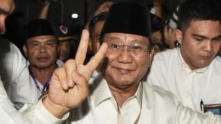 Prabowo: Apa yang Digugat Bung Karno Masih Terjadi Sekarang