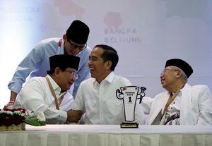 Jelang Debat Capres Perdana, Jokowi: Sudah Mantul!