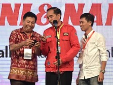 Bertolak ke Bali, Jokowi Resmikan Patung GWK Setinggi 121 M