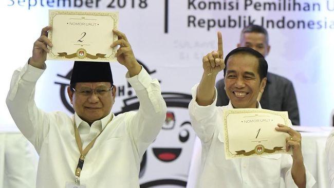 KPI Temukan Indikasi Siaran Jokowi-Prabowo Langgar Kampanye