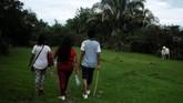 Pusat Nasional Memori Historis Kolombia Memperkirakan 15.687 orang menjadi korban kekerasan seksual selama konflik. (REUTERS/Nacho Doce)