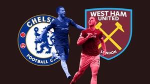 INFOGRAFIS: Statistik Panas Derby West Ham vs Chelsea