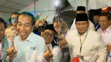 VIDEO: Dapat Nomor Urut, Jokowi Semringah dan Prabowo Goyang