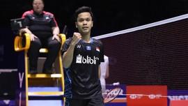 Anthony Ginting Lolos ke Final Singapura Terbuka 2019