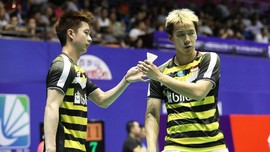 Kevin/Marcus Kalah dari Li/Liu di BWF World Tour Finals