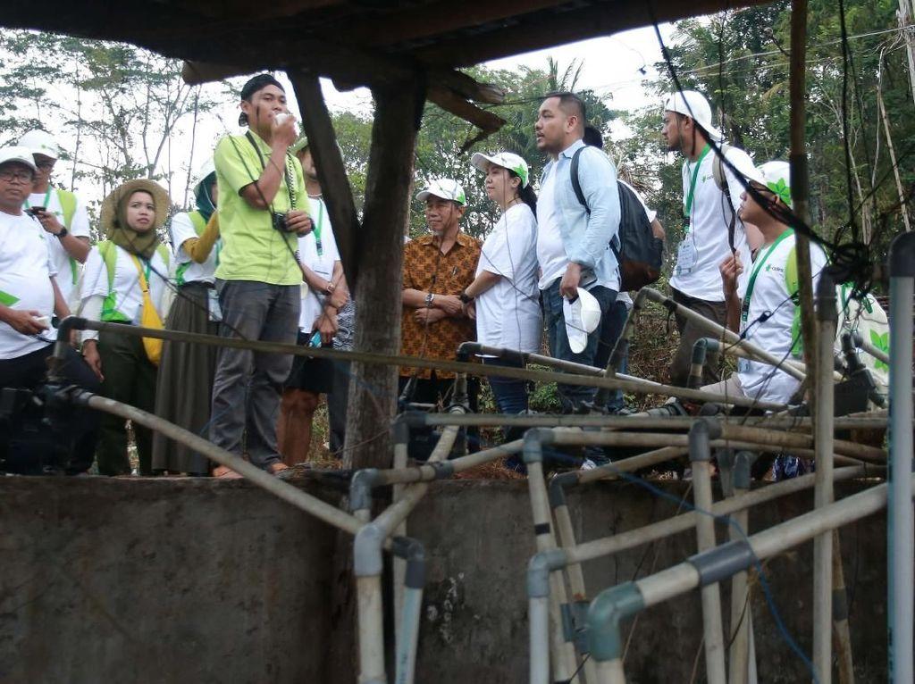 Aksi Milenial Jalani konservasi air di Yogyakarta