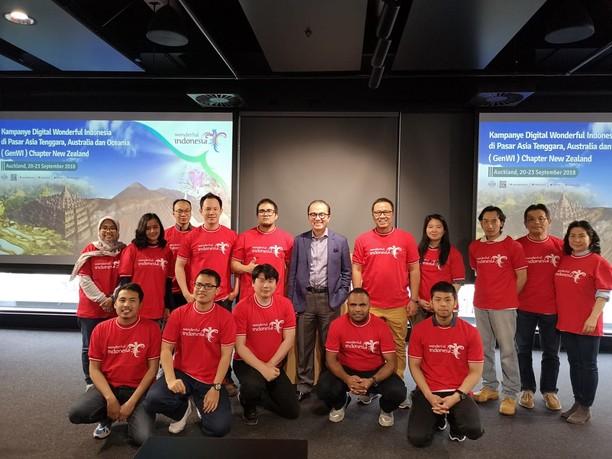 GenWI Promosikan Pariwisata Indonesia