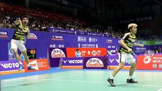 Ganti Strategi, Kunci Marcus/Kevin ke Final Hong Kong Terbuka
