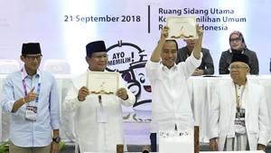 Live Streaming Debat Capres Perdana di Pilpres 2019