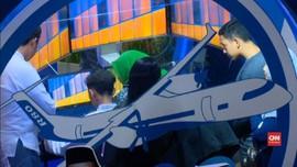VIDEO: Menjajal Pesawat R80 di Bekraf Habibie Festival 2018