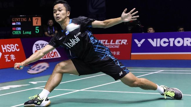 Kalahkan Momota, Anthony Ginting Juara China Terbuka 2018