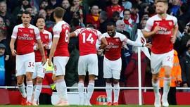 Kalahkan Everton, Arsenal Geser Man United di Liga Inggris