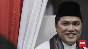 Erick Thohir soal PAN Kalsel Dukung Jokowi: Insyaallah Berkah