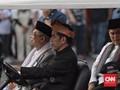 'Satu Jari' Jokowi dan Ma'ruf Amin di Kampanye Damai