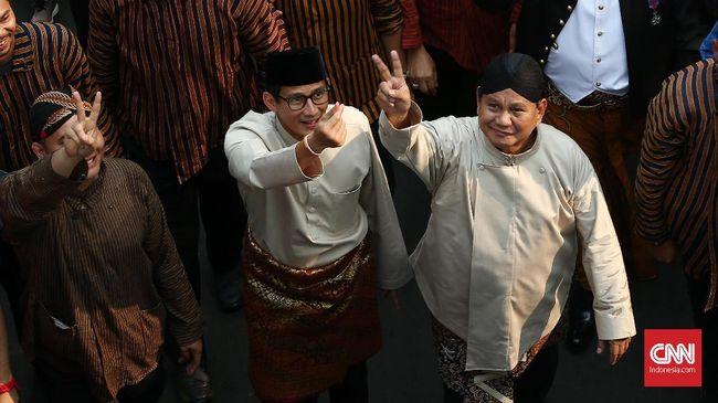 Prabowo-Sandi akan Bawa Indonesia Seperti Zaman Soeharto