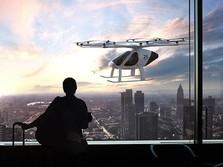 Grab & Volocopter Uji Taksi Udara, Segera Masuk RI?