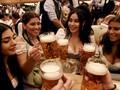 FOTO: Pesta Bir Oktoberfest ke-185 Telah Dimulai