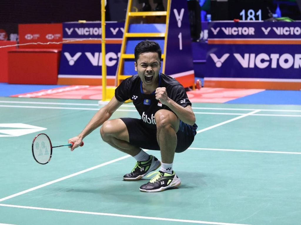 Anthony Ginting Jawara China Terbuka 2018