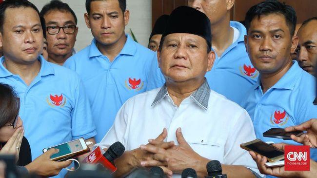 Prabowo Berhenti Pidato Saat Azan Zuhur Berkumandang
