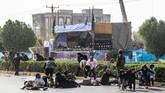 Duta Besar AS untuk Perserikatan Bangsa-Bangsa, Nikki Haley, langsung membantah tuduhan Rouhani dan meminta Iran untuk melakukan refleksi mengenai yang terjadi di dalam negerinya. (AFP Photo/ISNA/Morteza Jaberian)