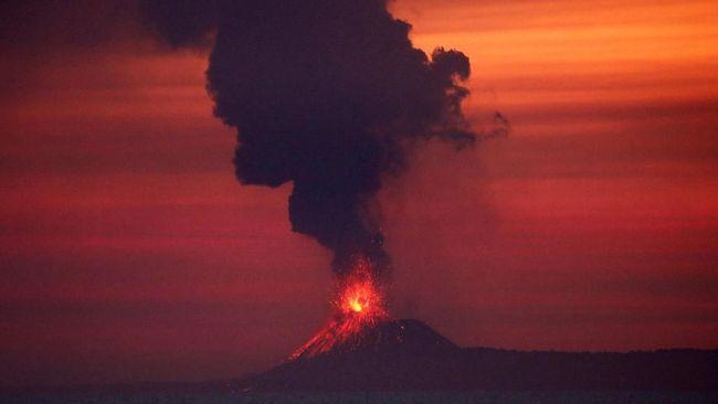 PVMBG Masih Dalami Kaitan Letusan Anak Krakatau dan Tsunami