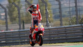Marquez Ingin Juara Dunia Sebelum MotoGP Valencia