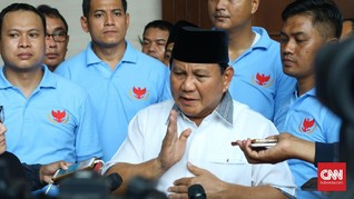 Prabowo Sebut SBY Sudah Berhitung Sebelum Walkout