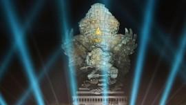 Resmikan GWK, Jokowi Yakin Patung itu Bisa Bertahan 100 Tahun