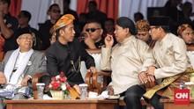 Jokowi dan Prabowo Ikrar Kampanye Tanpa Hoaks dan SARA