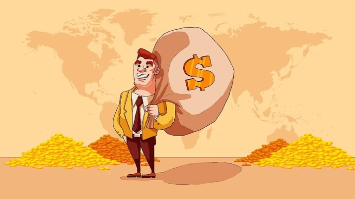 Tips menjadi kaya raya dari pekerjaan yang digeluti kemudian pensiun dini.